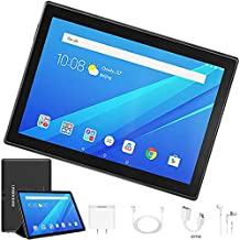 Tablet 10 Pulgadas 4G Full HD, 32GB ROM/64GB, 4G/WiFi/OTG (Soporte: Netflix) Android 7.1 Tablet PC Octa-Core 8500mAh Dual SIM 8MP Cámara 2GB de RAM Bluetooth/GPS (Negro)