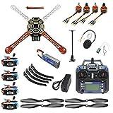 FEICHAO DIY FPV Drone Aircraft Kit Quadcopter 4-axle 450 Frame PXI PX4 Flight Control 920KV Motor GPS FS-i6 Transmitter Part