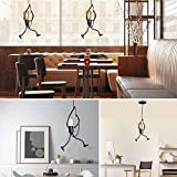 Zoom IMG-1 ferro lampadario sospensione vintage creativi