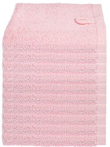 Julie Julsen Lot de 20 gants de toilette doux et absorbants - 12 couleurs - Certifié Öko-Tex - Rose - 30 x 30 cm