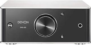 Denon PMA-60 amplificador estéreo integrado, diseño compacto, 50 W x 2 canales, transmisión Bluetooth, entrada USB-B, orie...