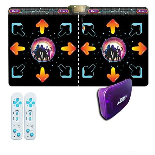 Nologo Tappetino da Ballo Antiscivolo per Danza Doppia Persona HGY per Console
