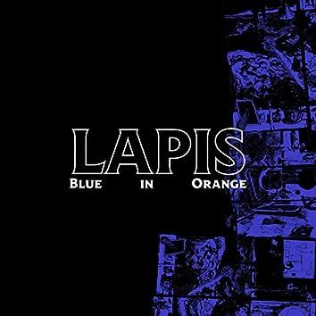 Blue In Orange