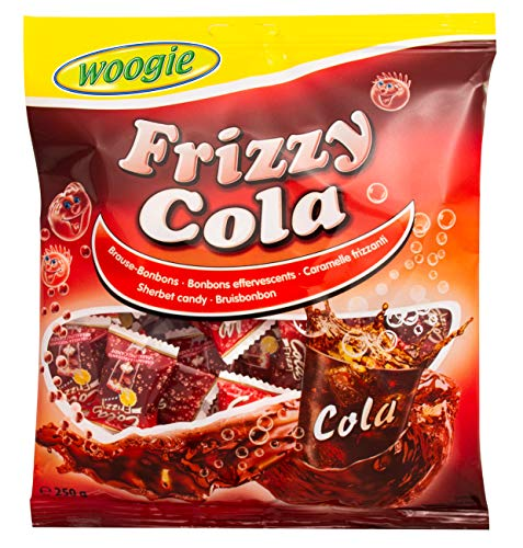 Woogie Frizzy Cola 250g