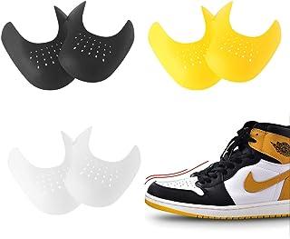 3 Paia Anti-Rughe Protezione per Scudi Toe, Leggere e Traspiranti, Evitare Che Le Scarpe Sneaker Pieghino La Rientranza, P...