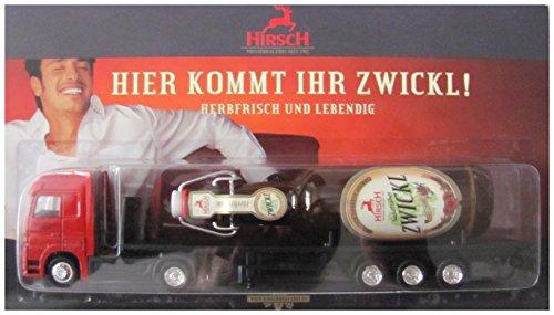 Hirsch-Brauerei Honer Nr.01 - Hier kommt Ihr Zwickl - MB Actros - Sattelzug mit Flasche