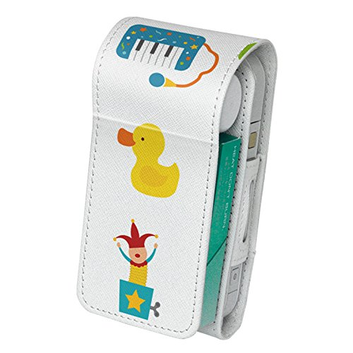 スマコレ IQOS専用 レザーケース 【従来型/新型 2.4PLUS 両対応】 専用 ケース カバー 合皮 カバー 収納 おもちゃ 乗り物 こども 009655