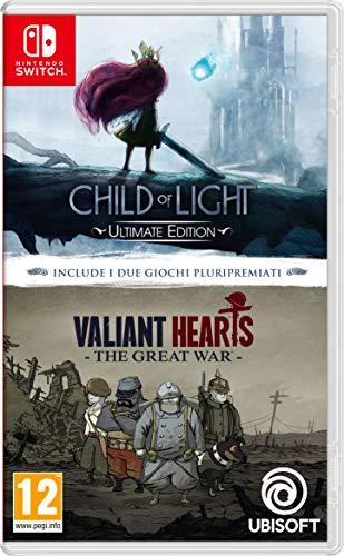 Child Of Light + Valiant Hearts Switch - Nintendo Switch [Importación italiana]