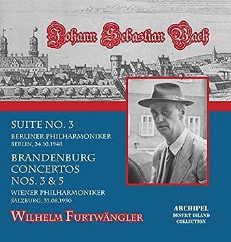 J.S. Bach: Orchestral Works (Live in Berlin, 1948 & Salzburg, 1950)