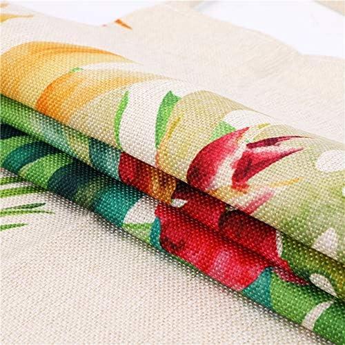 Yi Xuan 1 pièce Plume Tablier de Cuisine Dîner Barbecue Party de Cuisine Taille Bavoir Coton Lin Clean Outils de Cuisson 53 * 65 cm (Color : R) G