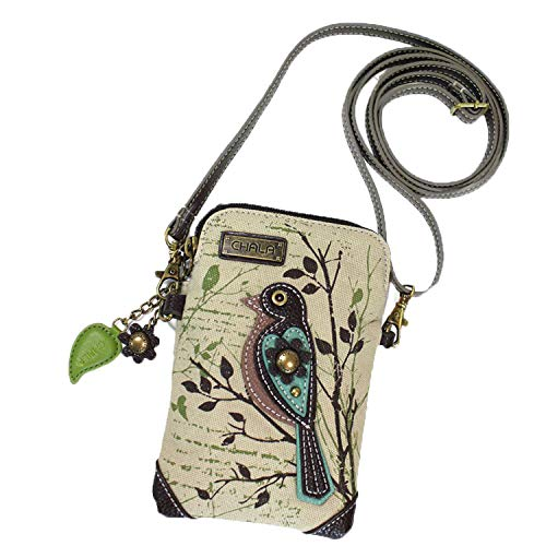 CONVENIENT, COMPACT, FUN. Front pocket adorned with our unique CHALA Character. Crossbody phone purse design with superior soft leather textured, which is durable and nice. Beautiful Lining Material to avoid friction to the phone and causing any dama...