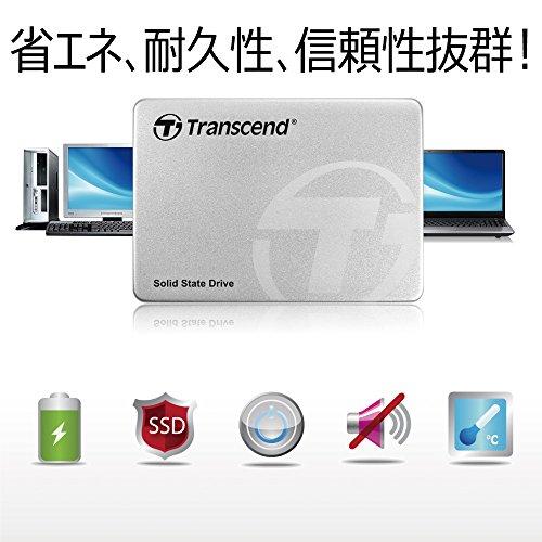 TranscendSSD128GB2.5インチSATA36Gb/sMLC採用TS128GSSD370S