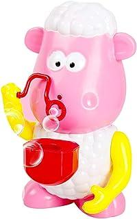 Bubble Machine, Bubble-Making Toys, Automatic Bubble Blower Portable Bubble Maker Bubbles Sheep Automatic Bubble Maker Flashing Lights Music Bubble Machine Baby Bath Toy