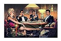 大人のジグソーパズル ジグソーパズルJames Dean Marilyn Mroe Elvis Presley Modernfor Modernfor大人向け子供ゲーム教育玩具300/500/1000/1500 D-1115 (Size : 1000P)