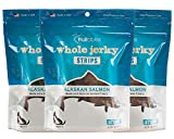Fruitables Whole Jerky Strips Alaskan Salmon Natural Gluten Free Dog Treats 5 Ounce, Pack of 3