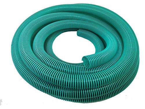 Hero spiraalslang zuigslang drukslang transportslang 25 mm groen / transparant 10 meter