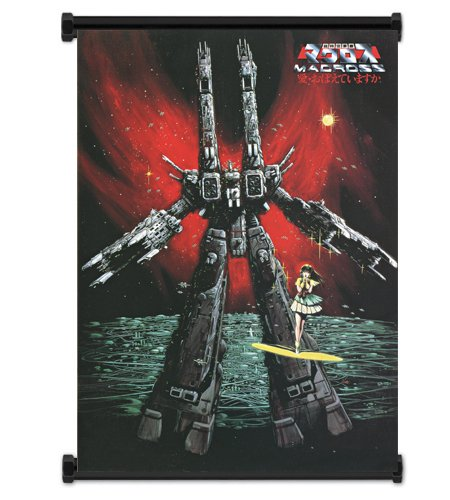 "Macross Anime Fabric Wall Scroll Poster (16"" x 23"") Inches. [WP]-Macross-9"