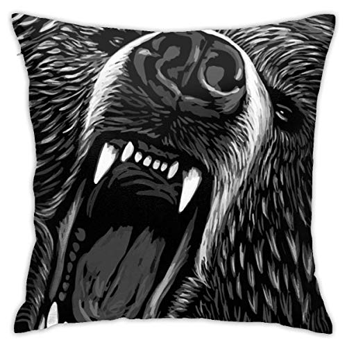 XCNGG Funda de almohadaBadminton Bedroom Throw Pillow Covers Home Decorative Couch Sofa Square Pillow Case 18x18 in