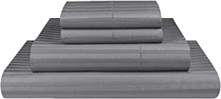 Luxor Linen 1000TC Ultra Soft Microfibre Sheet Set (1000TC-MIC-1CM-SS-K-GRY), King