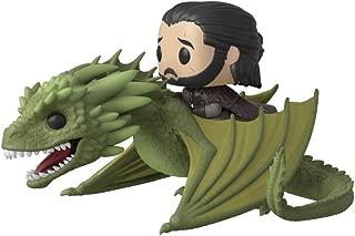 Funko Pop! Rides TV: Game of Thrones - Jon Snow with Rhaegal, Multicolor