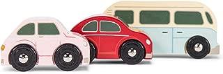 Le Toy Van Motors, Planes & Garages, Retro Metro Car Set Premium Wooden Toys for Kids Ages 3 Years & Up