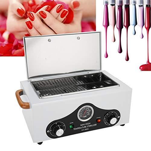 Sterilizzatore a Vapore Elettrico Sterilizzatore Estetica ad Alta Temperatura, armadio di disinfezione in acciaio inossidabile rimovibile per strumenti per unghie e strumenti per tatuaggi(EU)