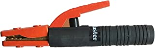 Welding Electrode Holder American Design 300A/500A/800A for option Shock-Proof Grooved Jaw Heavy Duty Electrode Clamp (500A(Orange))