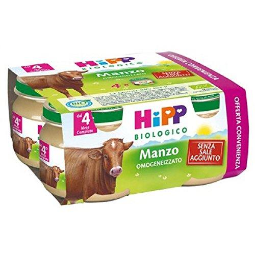 Homogenized Hipp Organic Beef 4x80g