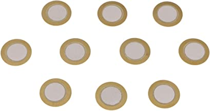 D DOLITY 10x 15mm Dia Piezoelectric Ceramic Buzzer Disc For Electrical Products