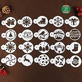 Weihnachten Süßigkeiten Form Set von 4 Stück - 3D-Schneeflockenform, Weihnachtsbaum, Rentier, Holly Leaf, Krücken, Schneemann, für Silikon Formen Kuchen Dekoration, Geburtstagsfeier....
