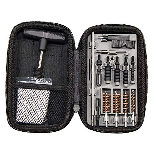 Tipton Compact Pistol Cleaning Kit for 9mm, 10mm, .22, .357,...