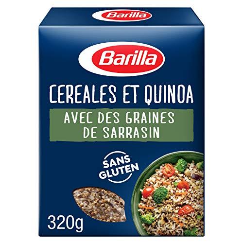 Barilla - Mix Céréales et Quinoa avec des graines de sarrasin riche en fibres et sans gluten - 320 g