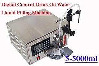 110v NEW 5-5000ml Lt-1 Digital Control Drink Oil Water Liquid Filling Machine
