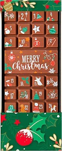 Calendario dell'Avvento Weibler Dolciumi in cioccolato al cacao Minimo 36% - 1 x 70 grammi
