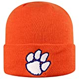 Top of the World Clemson Tigers Men's Cuffed Knit Hat Team Icon, One Fit