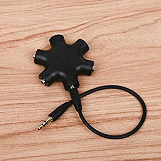 $25 » YYHZ 3.5mm Audio Aux Cable Splitter 1 Male to 5 Female Headphone Port 3.5 Jack Share Adapter for Tablet MP3 MP4 Mobile Pho...