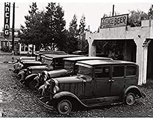 Lange Vintage Cars Santa Clara - Lienzo decorativo para pared