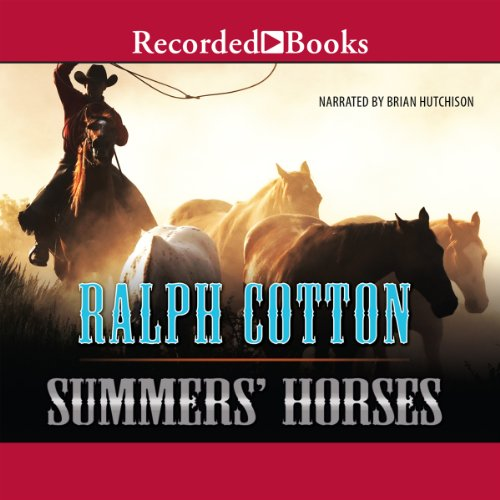 Summer's Horses audiobook cover art