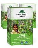 Organic India Tulsi Moringa Herbal Tea - Stress...