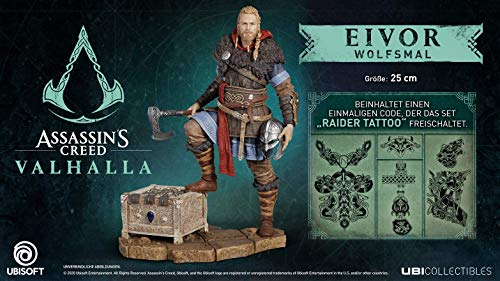 Assassin's Creed Valhalla - Eivor Wolfsmal Figur (25cm)