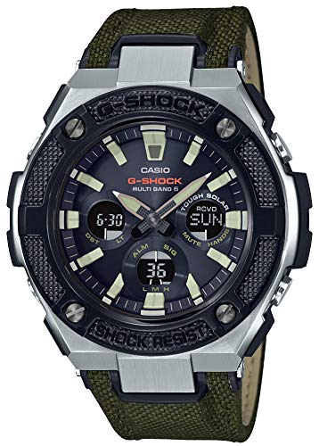 [カシオ] 腕時計 ジーショック G-STEEL 電波ソーラー GST-W330AC-3AJF メンズ グリーン