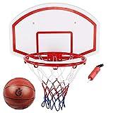 WH-LQJ Tipo de perforación Gratuito Soporte de Baloncesto for niños Marco de Tiro montado en la Pared for el hogar Cesta de Juguete for niños de Interior