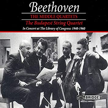 Beethoven: The Middle Quartets (Live)