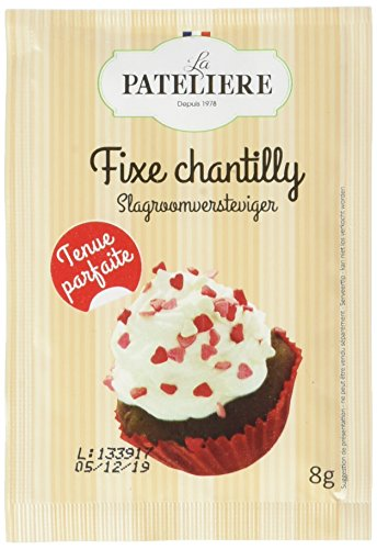 LA PATELIERE Fixe Chantilly 3 Sachets 24 g - Lot de 7