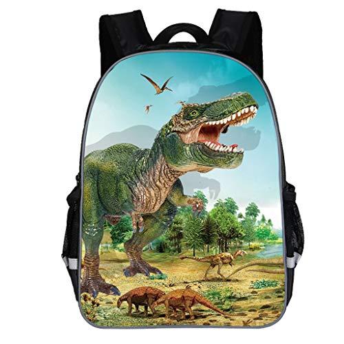 Mochila para niños, Animal Mochila Escolar Lindo Cartoon Dinosaur Print Hombro Mochila Bolsas Adolescente Pequeñas Mochilas Infantil Bolso para Chicas para La Escuela,Viajes