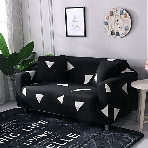 NOBCE Fundas elásticas Fundas elásticas seccionales Funda de sofá elástica para Sala de Estar Funda de sofá en Forma de L Funda de sillón 145-185CM