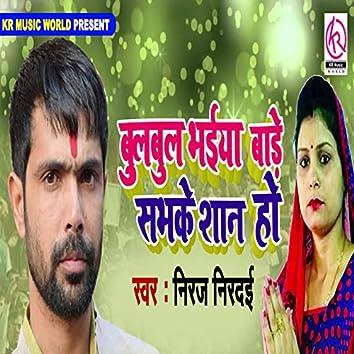 Bulbul Bhaiya Bade Sabhke Shan Ho