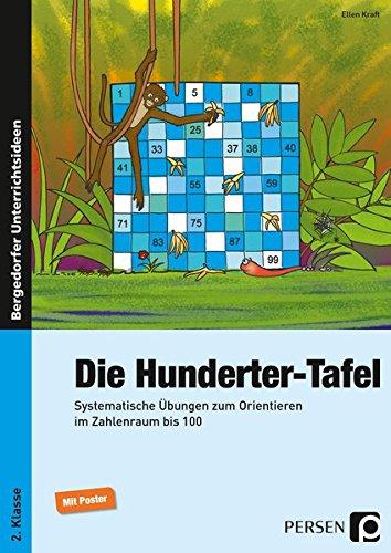 Die Hunderter-Tafel: Systematische Übungen zum Orientieren im Zahlenraum bis 100 (2. Klasse)