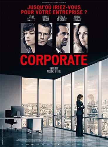 Cinema Corporate - 2017 - Lambert Wilson, Stéphane De Groodt - 116x156cm - Affiche Originale