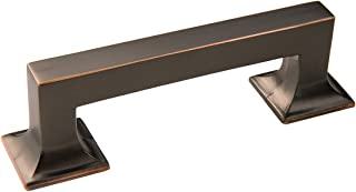 Hickory Hardware P3010-OBH Studio Collection 3 Inch Center Cabinet Bar Pull, Oil Rubbed Bronze Finish